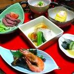 山里波 - 小鉢7皿