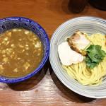 百日紅 - 特濃煮干しつけ麺(並)…850円