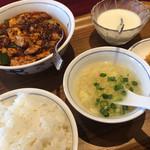 113941720 - 麻婆豆腐定食