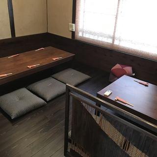 古民家をリノベーションしたお茶室の様な雰囲気♪