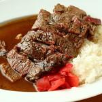 食堂 肉左衛門 - 料理写真:伝説のステーキカレー