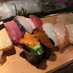 魚がし鮨 - 特上握り 巻物なし