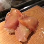 魚がし鮨 - 赤貝