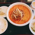 113947987 - 坦々麺定食 税込¥950。
