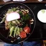 113948926 - 冷し山菜(そば)