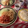 ビーバー - 料理写真:日替りはチキンカツトマトソース800円