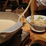 博多もつ鍋 幸 とりもつえん - ちゃんぽん麺