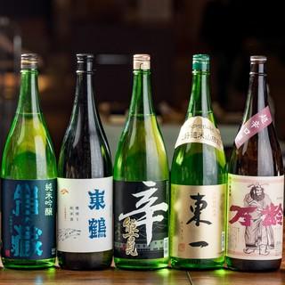 【ジビエ×日本酒】料理に合う日本酒をご提供/単品飲み放題も!