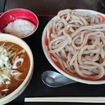 小平うどん - カレーうどん(つけ麺、600g:950円)