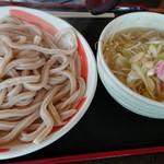 小平うどん - 塩あんかけつけうどん(400g:750円)