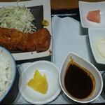 風来坊 - みそカツ定食