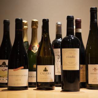 ソムリエが厳選するワインと日本酒