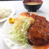 ハンバーグ&洋食 ベア - 料理写真:ハンバーグ・チキンカツ定食