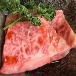 仙台牛焼肉 バリバリ - 仙台牛霜降りカルビ