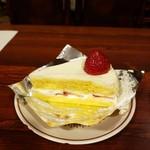 王様といちご - 料理写真:イチゴショートケーキ