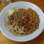 麺屋ガテン - カレーMAZEそば(並150g)