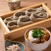 ヘギソバ&ガレット イッシン - 料理写真:カツ丼ランチセット