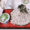 信州そば久保田 - 料理写真:ざる蕎麦大盛