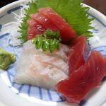 お食事処 松葉家 - 料理写真:たいまぐろ刺