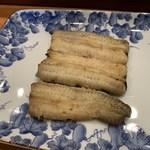 魚勝 - 鰻白焼き