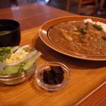 隈本総合飲食店 MAO - カレーライス定食 ¥750-(税別)
