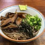 イズーラ修善寺 そば処 - 料理写真:冷やし椎茸そば500円