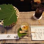 113979587 - 勾玉豆腐、前菜