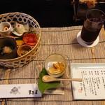 113979591 - 勾玉豆腐、前菜