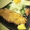 矢乃矢 - 料理写真:ロース豚カツ♪ 肉が柔こい!! ボリュームもGOOd!