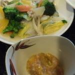 チャイナダイニング煌 - 八宝菜、小鉢