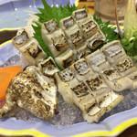 ひょうたん寿し - 太刀魚造り(炙ってあります)