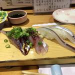 ひょうたん寿し - 鯵、細魚