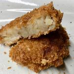 肉のやまかわ - 精肉問屋のコロッケ