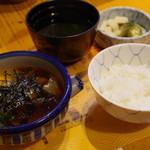 郷土料理 大衆割烹 ほづみ亭 - 宇和島鯛めし