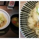 113987624 - ◆すだち快涼つけ麺◆ 1000円♪                       ◆あさり茶漬け◆♪100円