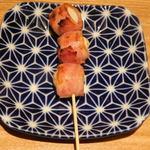 博多焼き鳥・野菜巻き・もつ鍋 かつぎや - うずら巻き