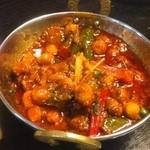 インドラ - ひよこ豆のカレー (^^)