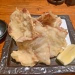 旬彩なないろ - 豚ロースの天ぷら