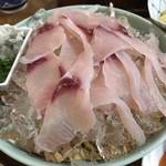 鯉ひろまつ - 冷水で締められた鯉のあらい