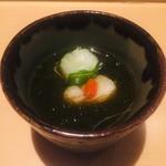 ゼックスウエスト 炙り焼き&寿司 アン - もずく酢