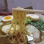 国民食堂 - 魚介パンチAKR・麺