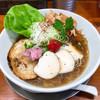 暁 製麺 - 料理写真:冷やし追い鰹らぁ麺