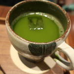 カフェ大阪茶会 - 丹波産抹茶のグリーンティー