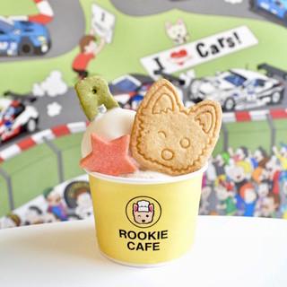 """新鮮な豆乳を使用した""""SOYアイスクリーム&クッキー"""""""