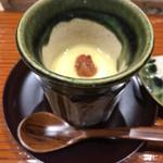 鮨旬美西川 - 茶碗蒸し