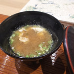 鮨旬美西川 - 味噌汁