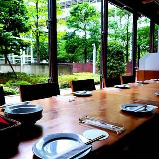 全面ガラス張り!開放感の溢れる空間で北海道を堪能する魅力。