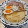 猫トラ亭 - 料理写真:煮干しラーメン 650円 味玉のせ 100円