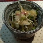 よし乃 - 酢の物(サラダ)