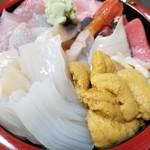 勝栄鮨 - ネタてんこ盛り